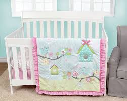 Pink And Teal Crib Bedding by Baby U0027s First Garden Song 4 Piece Crib Bedding Set U0026 Reviews Wayfair