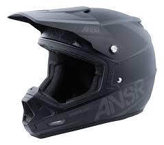 rockstar motocross helmets answer evolve 3 helmet solid revzilla