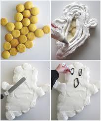 pull apart ghost cupcake cake lindsay ann bakes