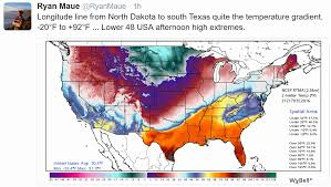 Snow Map Usa by Frostbite Alert Dangerously Cold Today Welcome Thaw 2 Days