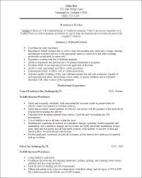 Sample Warehouse Associate Resume by Warehouse Resume Template 17 Best Ideas About Resume Objective
