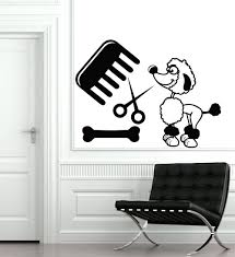 high quality dog wall decals buy cheap dog wall decals lots from dog puppy grooming salon wall sticker pet store dog wall stickers puppy pet shop dog wall