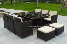 metal patio furniture set luxury rattan sofa dining set garden furniture patio conservatory