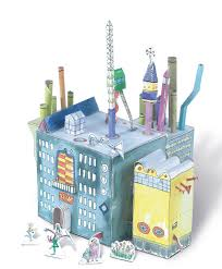 build your own chocolate factory roald dahl press out and build