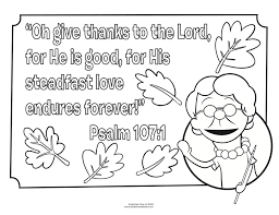 biblical thanksgiving coloring pages coloring page