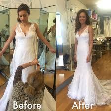 wedding dress alterations london wedding dress adjustments bernit bridal