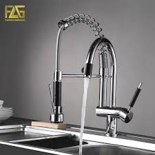Kitchen Faucet Outlet Flg Style Kitchen Faucet Spray Chrome Cast Deck