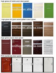 Kitchen Cabinet Door Manufacturer Interior Front Designs Imitation Wooden Door Plywood Kitchen