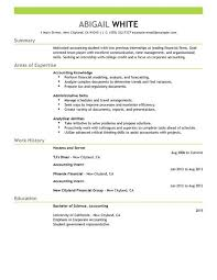 Example Finance Resume by Best Training Internship Resume Example Livecareer