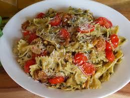Challenge Tie October Recipe Challenge Bow Tie Pasta Pesto By Lyssaatmidnight