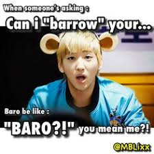 Macro Meme - b1a4 baro macro meme b1a4 baro macro meme macros made by