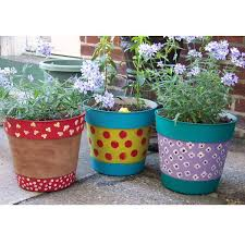 painted pots u2014 crafthubs