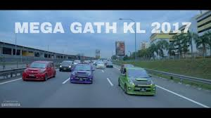kereta bmw biru mega gath kl 2017 promo video youtube
