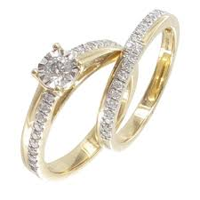 gold eternity ring 9ct yellow gold diamond solitaire eternity ring set from browns