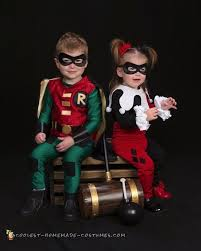 Robin Halloween Costume Toddler Cosplay Inspired Harley Quinn Robin Toddler Costumes Toddler