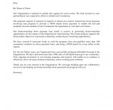 example of a proposal letter for funding cover letter sample