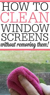 how to clean how to clean your window screens frugally blonde