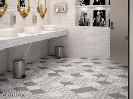 Grey And White Bathroom Tile Ideas 21 Arabesque Tile Ideas For Floor Wall And Backsplash