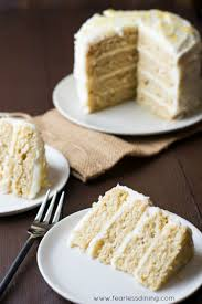 super easy gluten free lemon layer cake fearless dining