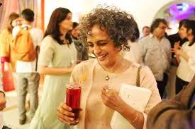 netherfield ball u2013 arundhati roy sighting somewhere in delhi