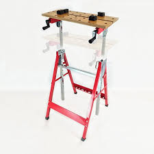 dirty pro toolstm height adjustable tilt and clamp folding work