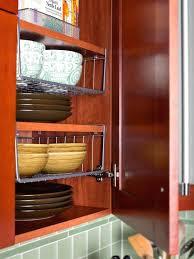 Kitchen Cabinet Sliding Organizers - rev shelf pull out tier wire basket kitchen cabinet organizers