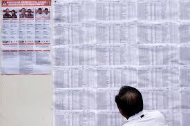 bureau de vote 15 indonésie les adversaires de ahok attisent les tensions