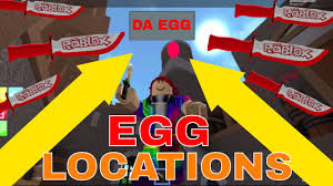 Roblox Maps Roblox Assassin Eggs Collecting Eggs Around The Maps Egg