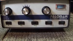 8877 Lifier Schematic Diagram Palomar 90a Vintage Classic Cb Sweep Tube Linear Amplifier Youtube