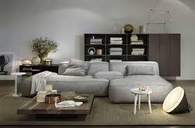Moderne Sofa Moderne Sofa Divani Casa Graphite Modern White Leather Sectional