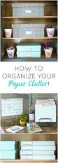 office design 7 simple steps organizing your paper clutter