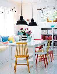 Bright Armchair Chairs Astonishing Colorful Dining Room Chairs Colorful Dining