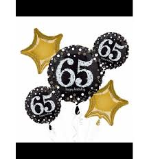50th birthday balloon bouquets sparkling celebration 65th 65 birthday balloon bouquet 5 pcs