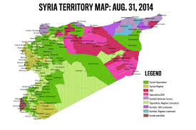 Syria World Map by Exclusive Isis Gaining Ground In Syria Despite U S Strikes