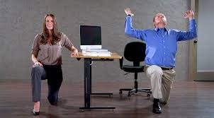 Yoga At The Office Desk Office Yoga Online Classes Office Yoga Poses