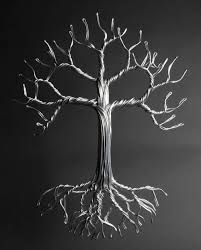 aluminum tree of metal studios
