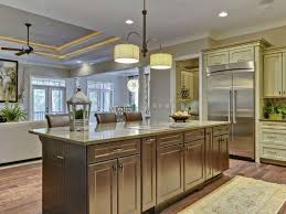 Narrow Kitchen Islands With Seating - kitchen room long white wooden kitchen island storage brown
