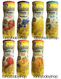 graduates snacks gerber puffs graduates cereal snack naturally flavored 1 48 oz