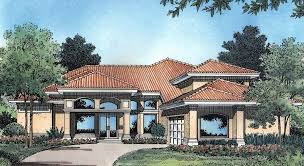 two story courtyard house plan 6382hd architectural designs