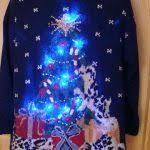 christmas sweater that lights up christmas celebration art