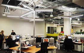 open office lighting design bespoke lighting for qantas head office refurbishment by ndylight