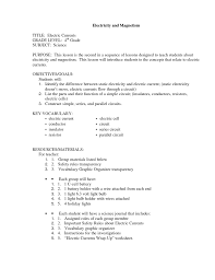 component electricity and magnetism worksheets quiz worksheet 4th