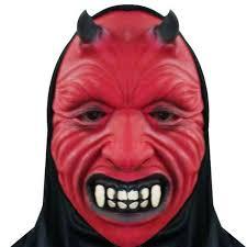 scary masks mask black cloth terror horror scary mask