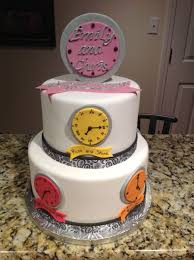 around the clock bridal shower around the clock bridal shower cake cakecentral