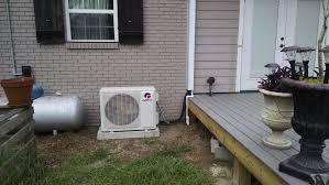 mitsubishi mini split install in the community touchstone heating u0026 air inc