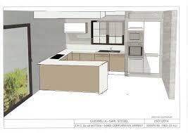 plan de cuisine avec ilot engaging plan cuisine en u avec ilot design s curit la maison