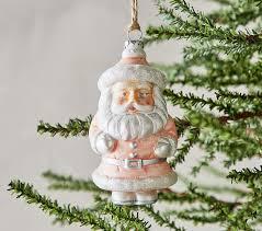 mercury vintage santa ornament pottery barn