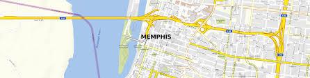 Memphis Map Download Stadtplan Memphis