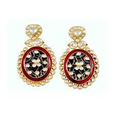 gujarati earrings new earrings style in fashion handmade 22k gold