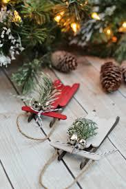 popsicle stick sled ornaments the creative corner 126 diy